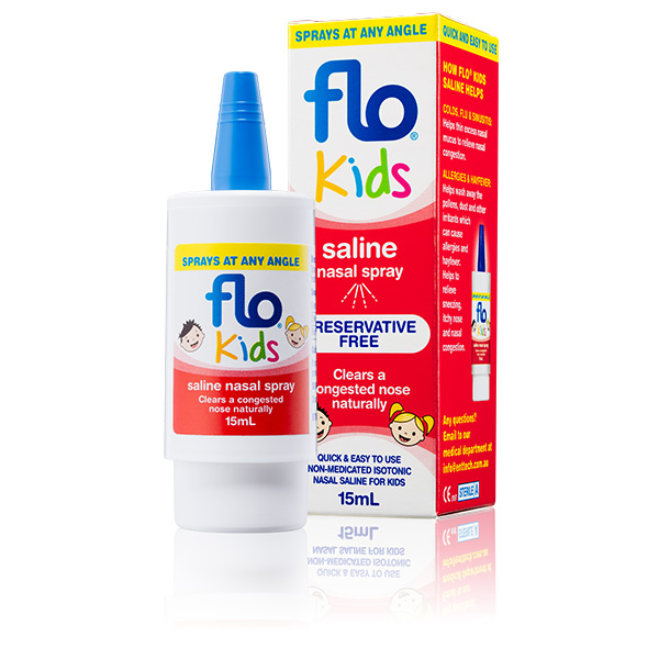 Flo Kids Saline Spray